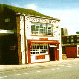 Cox's fish and chip restaurant